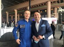 ESA Astronaut Matthias Maurer & Holger Thorsten Schubart CEO Neutrino Energy Group