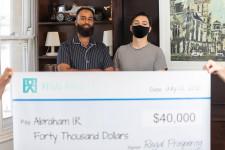 Good Samaritan receives $40,000