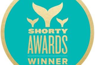 Shorty Awards Winner Badge