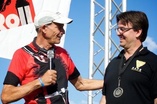Ultramarathon Runner Awards Hit and Run Survivor