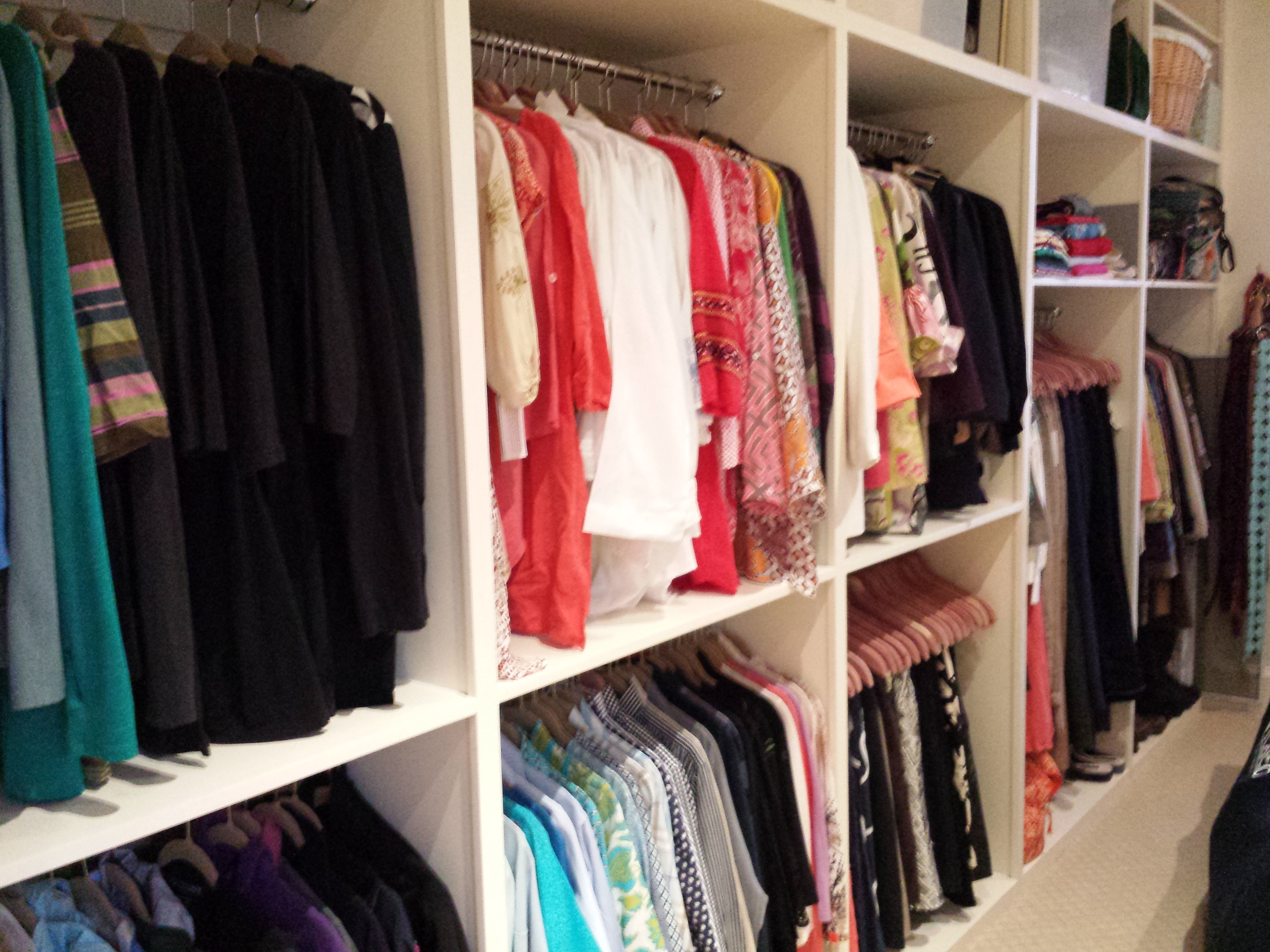 Closets Can Be Organized By Colors, Garment Type Or Lifestyle. Jacksonville  ...