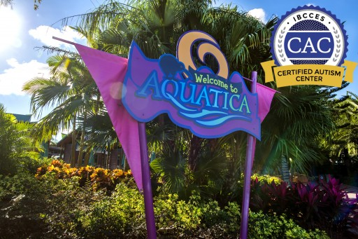 Aquatica Orlando Becomes the First Water Park in the World to Be a Certified Autism Center