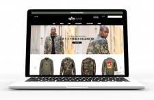 Alpha Industries New Oracle Commerce Cloud SIte