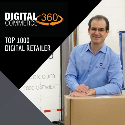 NorthShore Care Supply Makes Top 1000 List as a Leading Online Retailer