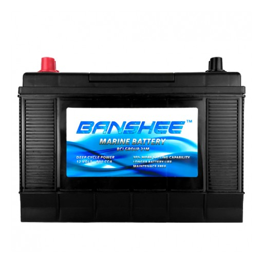 Banshee Brand Batteries Introduces New D31M Marine Deep Cycle Battery