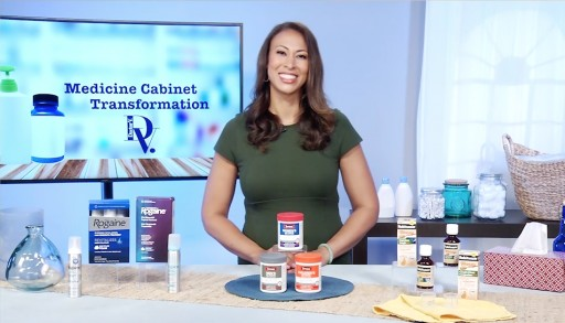 Dr. Yael Varnado, M.D., Shares Her Top Suggestions With Tips on TV on the Medicine Cabinet