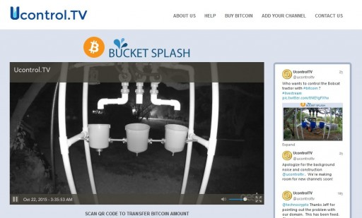 A New Use Case for Bitcoin, Ucontrol.TV Launches Bitcoin Controlled Live Web Streams