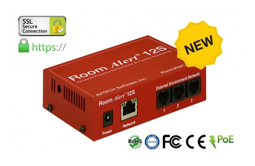AVTECH Announces the Release of the New Room Alert 12S Proactive Environment Monitor