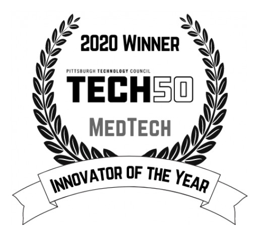 SENTACT NAMED 2020 'MEDTECH INNOVATOR of the YEAR' by the PITTSBURGH TECHNOLOGY COUNCIL