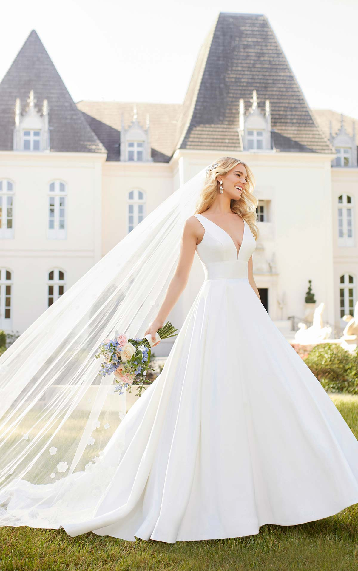 Affordable Wedding Dress Designer Stella York Reveals New Spring