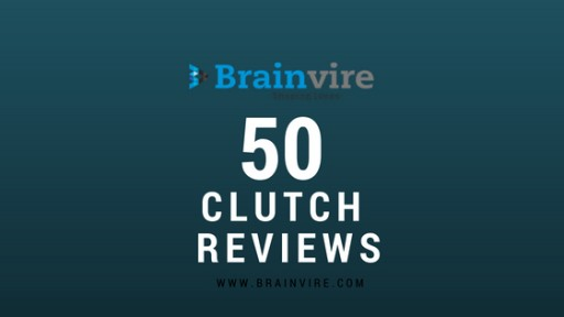 Brainvire Recognized as a Top Ecommerce Power Player by Clutch With 50+ Positive Client Reviews
