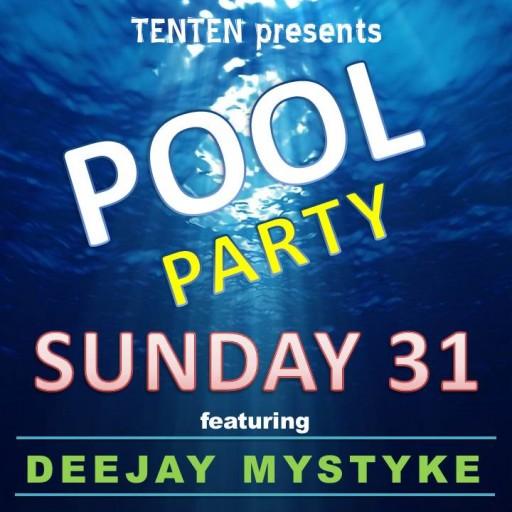 Mid-Summer Swan Dive: TENTEN Wilshire Rooftop Pool Party