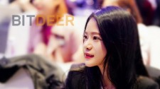 BitDeer.com founder & CEO Celine Lu hosting Crypto Mining Industry Dialogue 2019 in Beijing