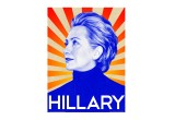 Hillary Clinton's 2008 Campaign Poster