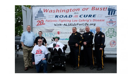 "Chris Pendergast, ALS ""Ride for Life"" Wheelchair Journey Continues This Week, Visiting Philadelphia Monday and Tuesday"