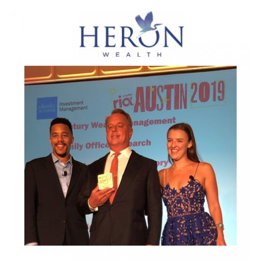 Heron Wealth Recognized by Citywire RIA Magazine as 'Future 50' Financial Advisory Firm to Watch