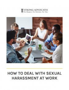 How to Deal with Sexual Harassment a Work