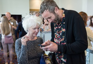 IrelandWeek welcomed actress Fionnuala Flanagan and Chris O'Dowd