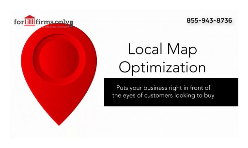 Law Firm Google Maps and Local Search Ranking Call ForLawFirmsOnly Marketing, Inc.At 855-943-8736
