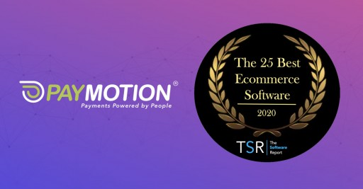 PayMotion® Ranks 5th Best eCommerce Software of 2020, by the Software Report