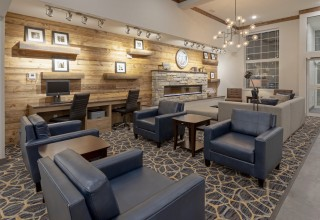 Interior Lobby of GrandStay Hotel in Milbank, SD