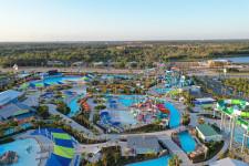 Island Water Park Aerial