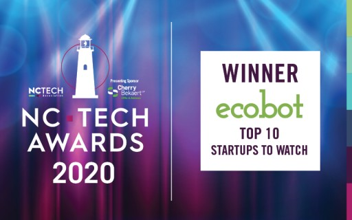 Ecobot Named Among NC Tech Awards' Top 10 Startups to Watch