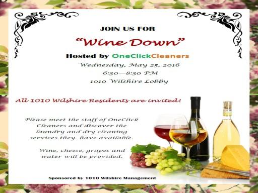 TENTEN Wilshire: Wine Down Wednesday