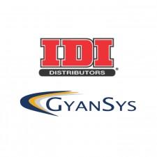 IDI Distributors and GyanSys Logos