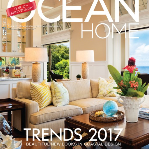 Ocean Home Magazine's Annual Ultimate Holiday Gift Guide Features 12 Luxurious Finds for Everyone on the Oceanfront Homeowner's List