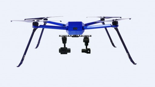 Shenzhen JTT Technology Released a Foolproof Industrial Drone - Spider C85