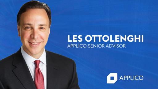 Les Ottolenghi Joins Applico as Senior Advisor