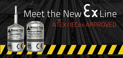 MadgeTech Welcomes the Latest Ex Line