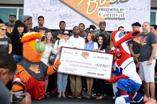 Miami HEAT Family Festival Raises $400K for Jackson Health Foundation's Guardian Angels
