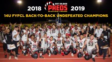 2018-2019 14U FYFCL Back-to-Back Undefeated Champions