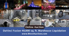 West Auctions to Conduct Large Scale Online Auction for DaVinci Fusion