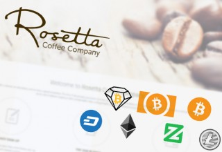 Rosetta Coffee Supported Cryptocurrencies