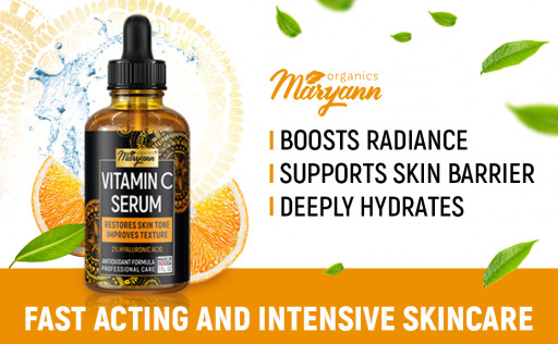Maryann Releases Its New Vitamin C Serum with Hyaluronic Acid
