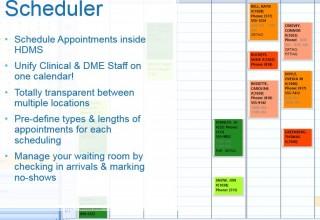 HDMS Scheduler