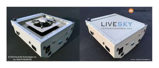Hoverfly Technologies Delivers 50th LiveSky to U.S. Government Customer