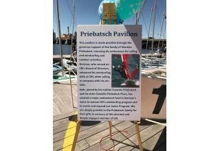 Priebatsch Pavilion Plaque