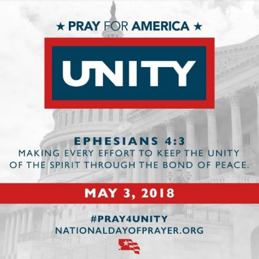 Family Worship Center of American Canyon to Participate in National Day of Prayer: Pray for America May 3, 2018