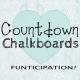 Countdown Chalkboards