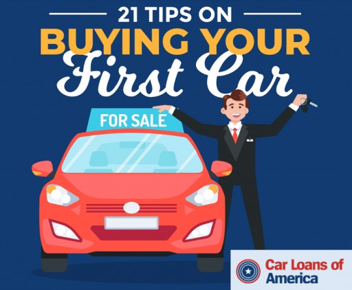 Car Loans of America Releases 21 First-Time Buyer Tips on Purchasing a Vehicle