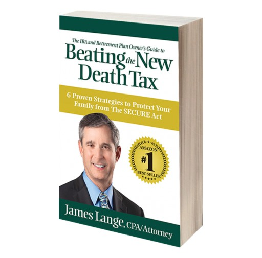 New Book, 'Beating the New Death Tax' by James Lange, Available Now for Pre-Order, Book Reviews, Media Requests
