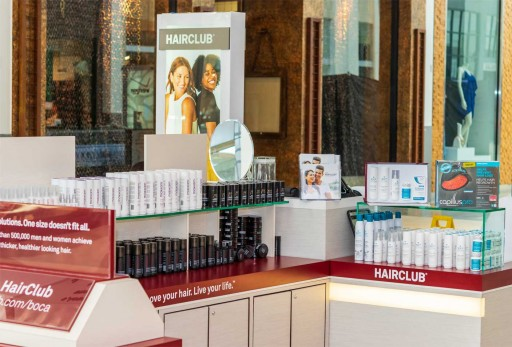HairClub® to Open Its First Retail Mall Kiosk