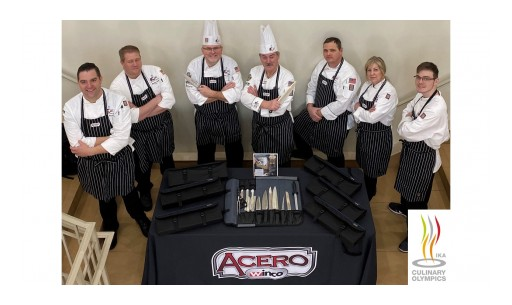 Acero Cutlery by Winco Sponsors the American Culinary Federation, USA Regional Team at the 2020 IKA/Culinary Olympics