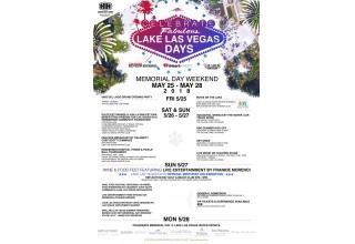 Lake Las Vegas Days Lineup