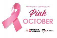 Pink October Brooklyn Mitsubishi