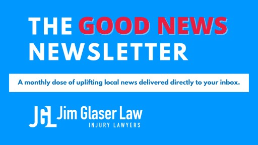 Jim Glaser Law's Good News Newsletter Spreads Positivity Across New England